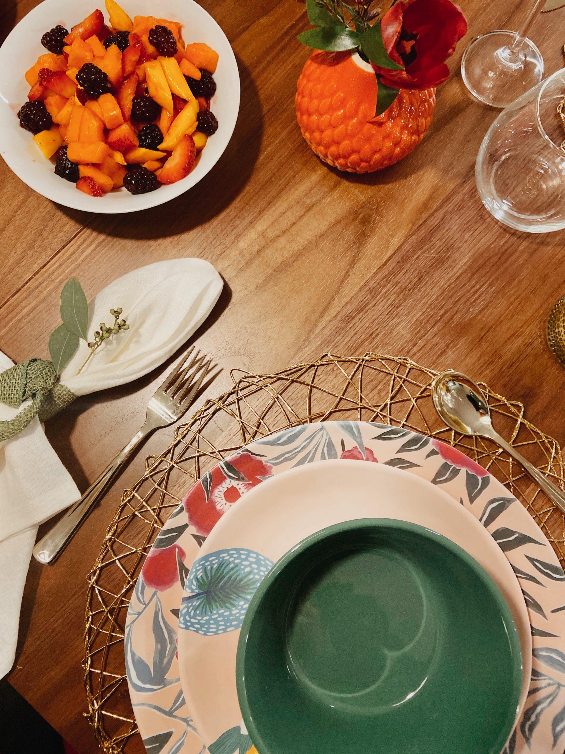 brunch table